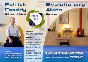 Evolutionary Aikido Seminar with Patrick Cassidy @ Hara Kai Aikido Torino | Torino | Piemonte | Italy