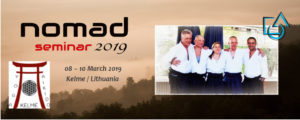 "Evolutionary Aikido Nomad-Seminar @ Jogos ir aikido studija ""Visata"" Kelmė"
